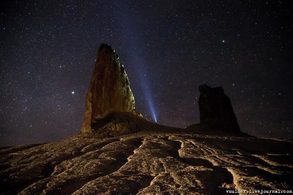 Вечерние и ночные фотоэксперименты на Босжире