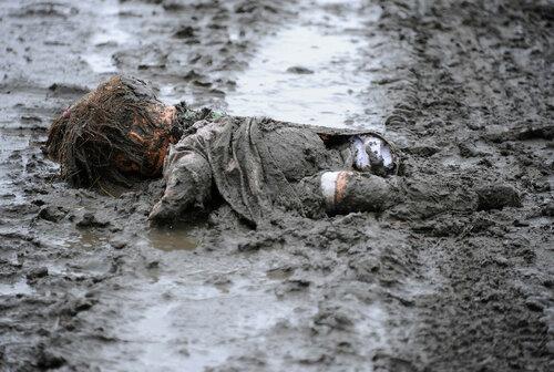 На юге Молдовы ребенок утонул на улице в луже