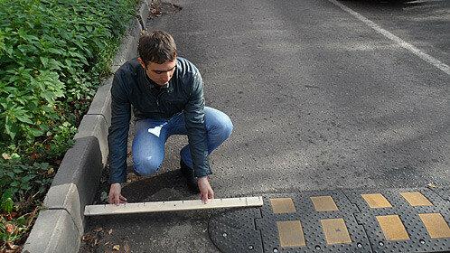 Лежачие полицейские в Молдове могут стать причиной аварий