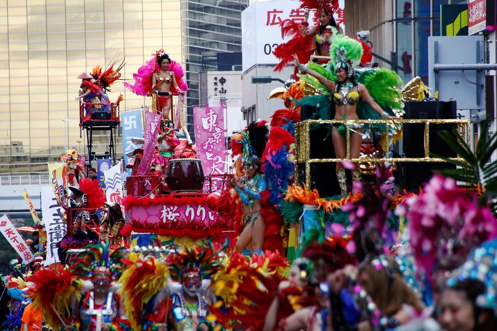 Асакуса Самба карнавал в Токио