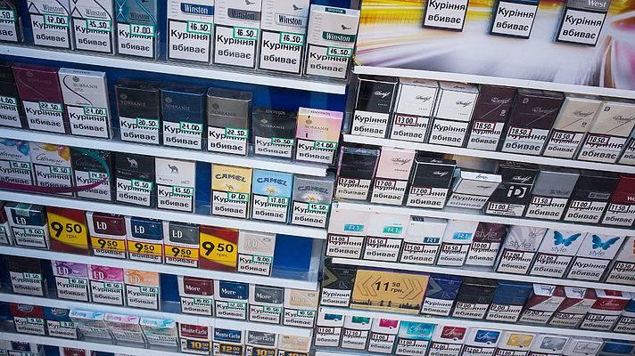 Рост доли дешевых сигарет до 10% обойдется госбюджету потерей в миллиард гривен, - Найман