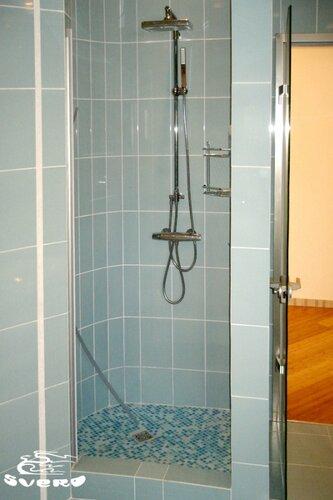 036. ванная комната, мозаика, дкшевая, интерьер