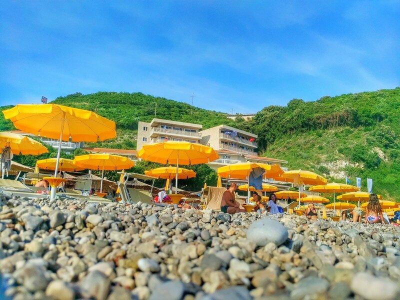 пляжи Черногории, сентябрь 2016