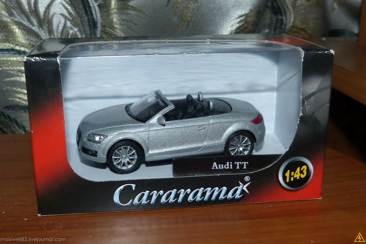 Audi TT Roadster Mk.II - Cararama