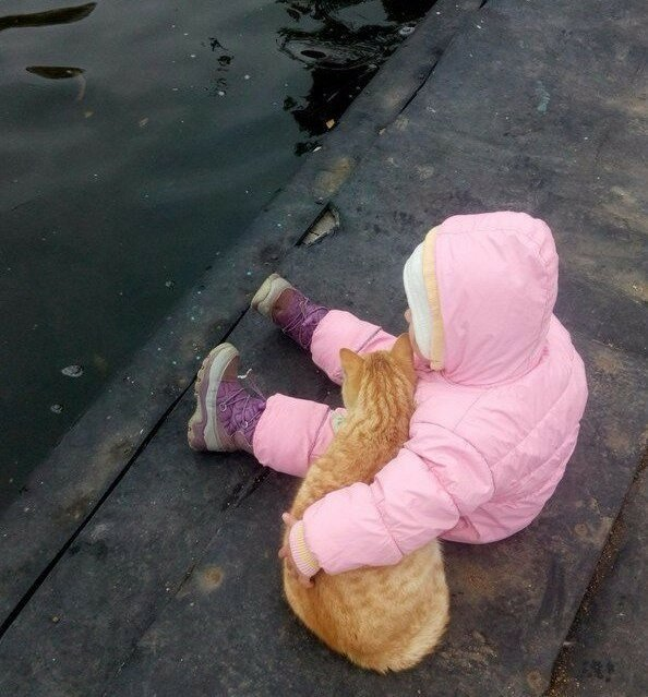 Детство — это когда кот старше тебя