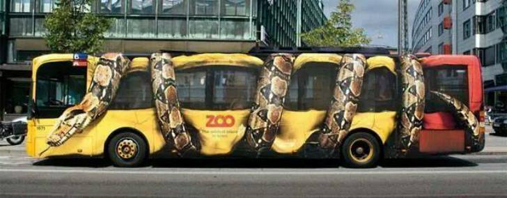 Реклама успешного зоопарка выглядит так.