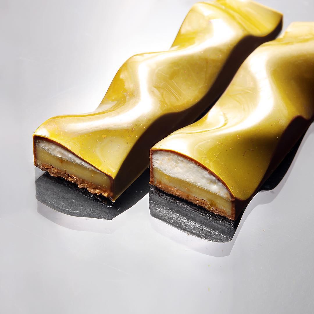 Геометрические торты Динары Каско