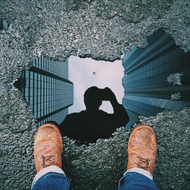 © reddit  Кслову, чтобы сделать потрясающее фото, необязательно ехать накрай земли.