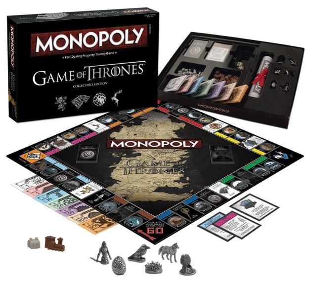 Версия «Монополии» для любителей «Игры престолов»: карта «Шанс» здесь называется «Валар Моргулис», а
