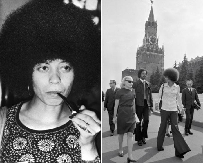 Ей неоднократно предлагали переехать в СССР, но она заявляла, что чернокожие в США больше нуждаются