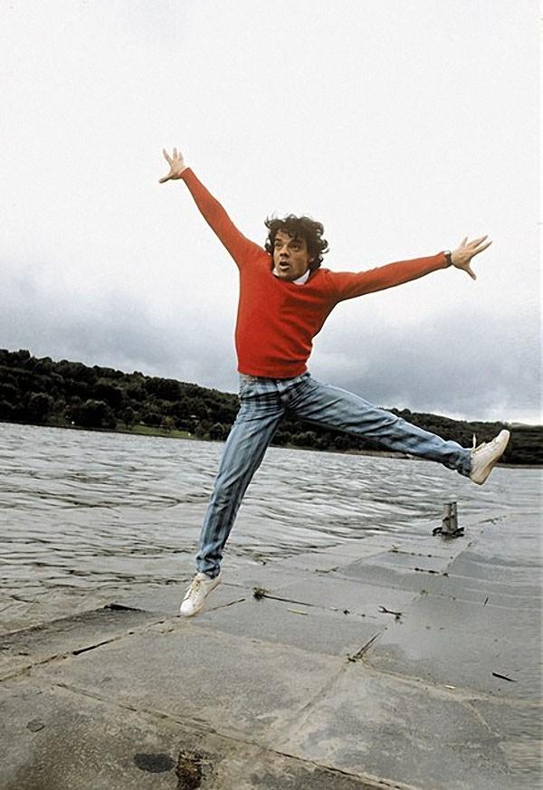 Актер Московского государственного театра миниатюр Константин Райкин, 1987 год. Фото Дмитрия Донског