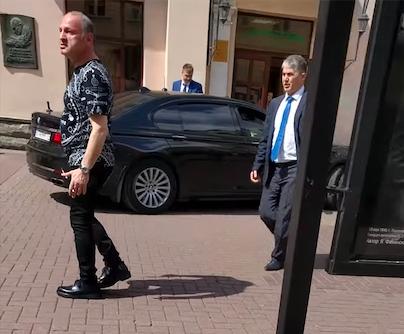 Суд арестовал водителя БМВ запроезд поСтарому Арбату