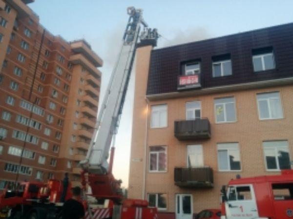 ВРостове-на-Дону изгорящего дома эвакуировали 40 человек