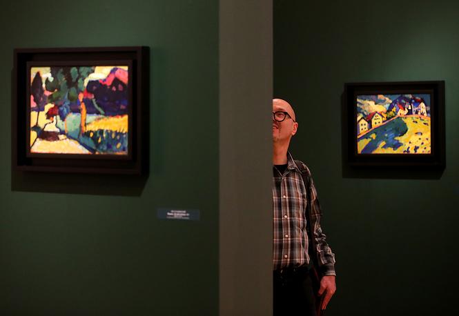 ВПетербурге откроется выставка, приуроченная к 150-летию Василия Кандинского
