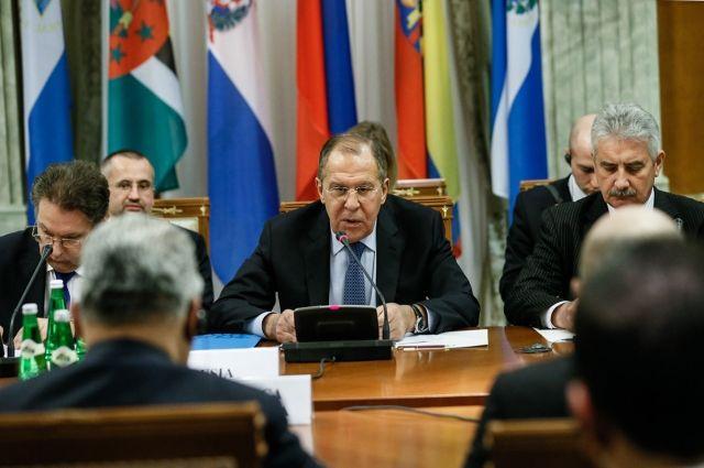 Необходимо восстановить военное сотрудничество сНАТО— Сергей Лавров