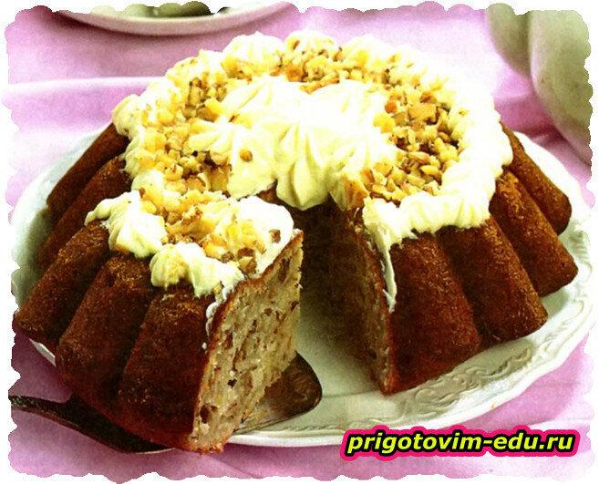 Пирог сметанный «Снежок»
