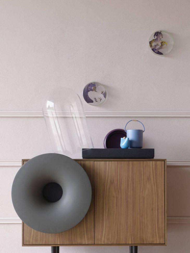 Caruso Music Cabinet by Paolo Cappello for Miniforms