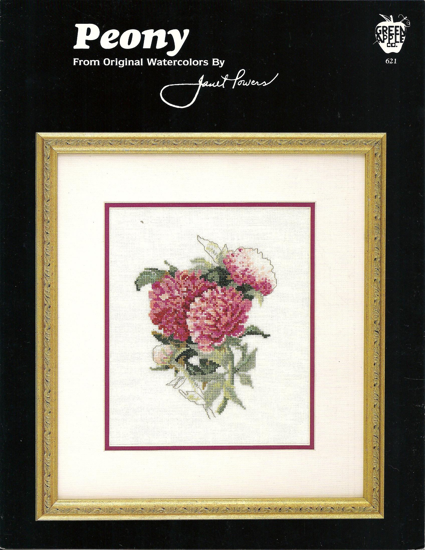 floral collection crocus схема вышивки