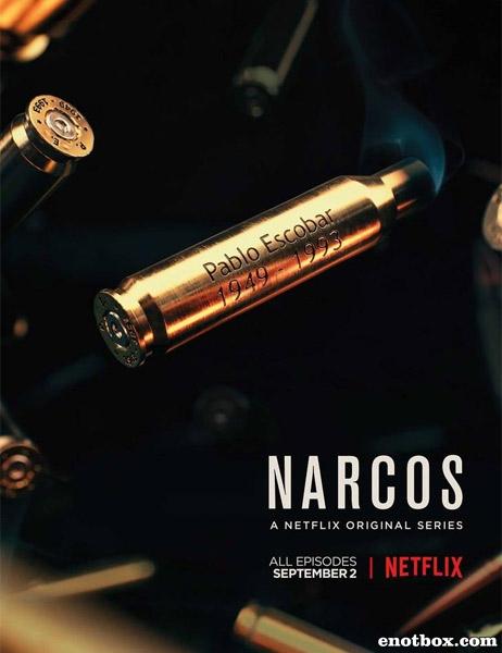 Нарки (Нарко, Барыги) (2 сезон: 1-10 серии из 10) / Narcos / 2016 / ПМ (NewStudio) / WEBRip + WEBRip (720p) + (1080p)