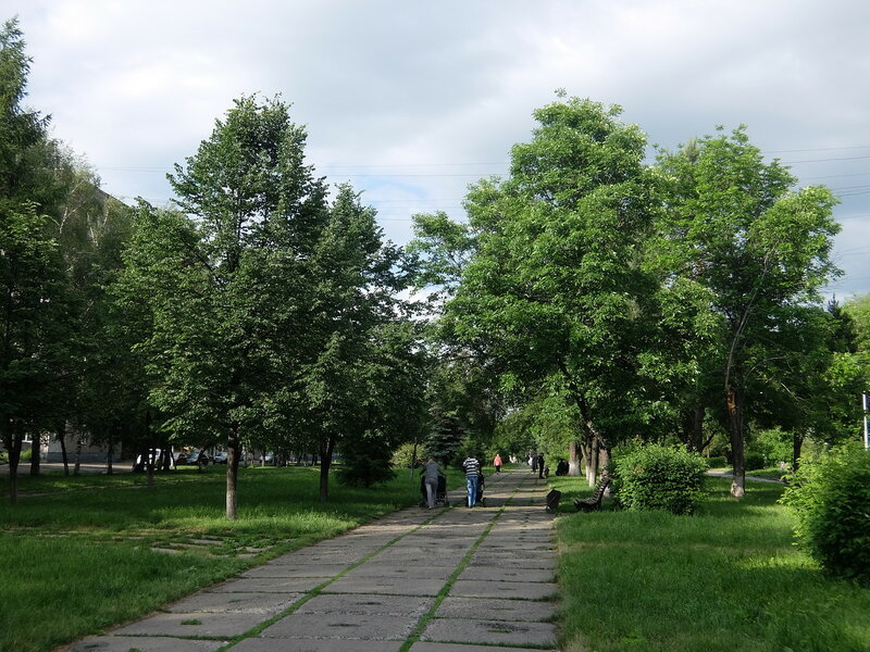 Улица Грдины