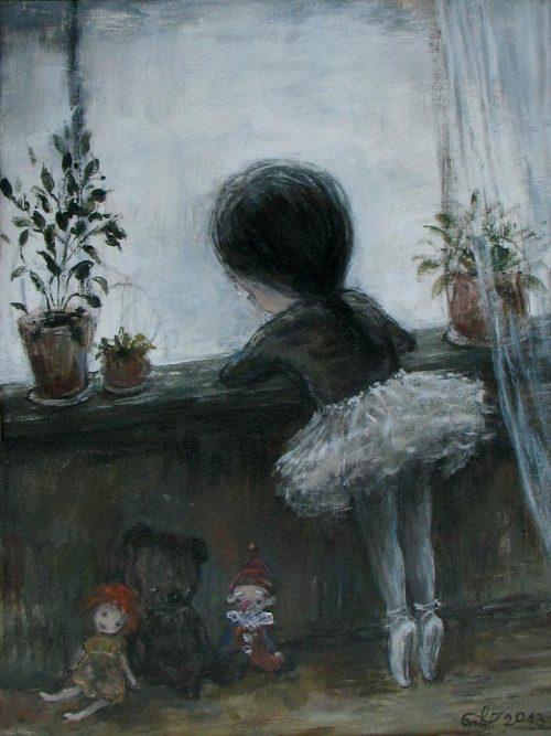 Нино Чакветадзе. Картины пропитанные грустью.