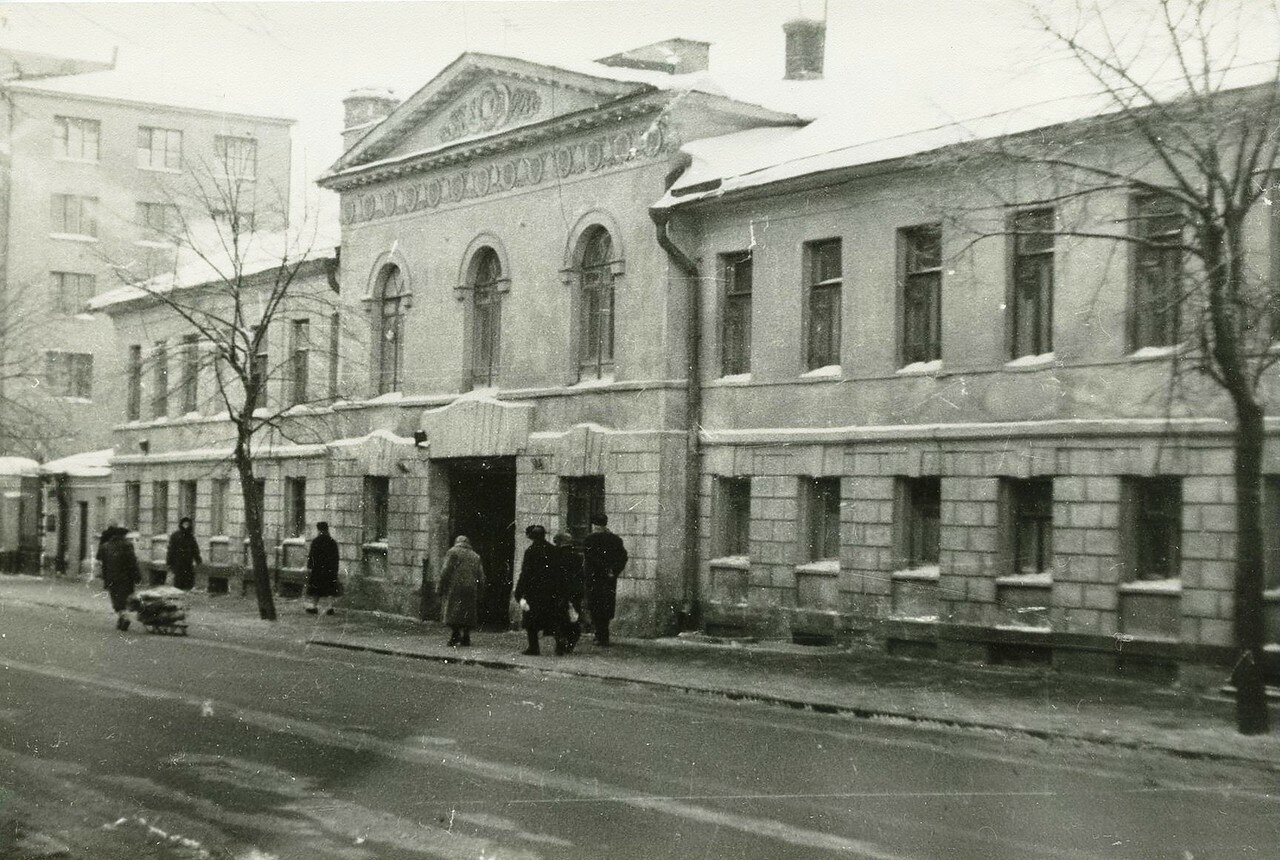 1960-е. Улица Воровского, 27