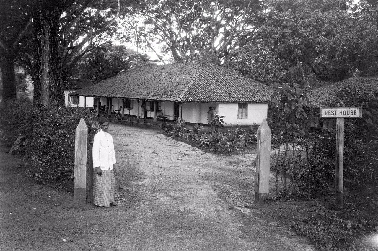 44. Гостевой дом, где были размещены Эгон фон Эйкштедт с супругой во время пребывания в Бибиле