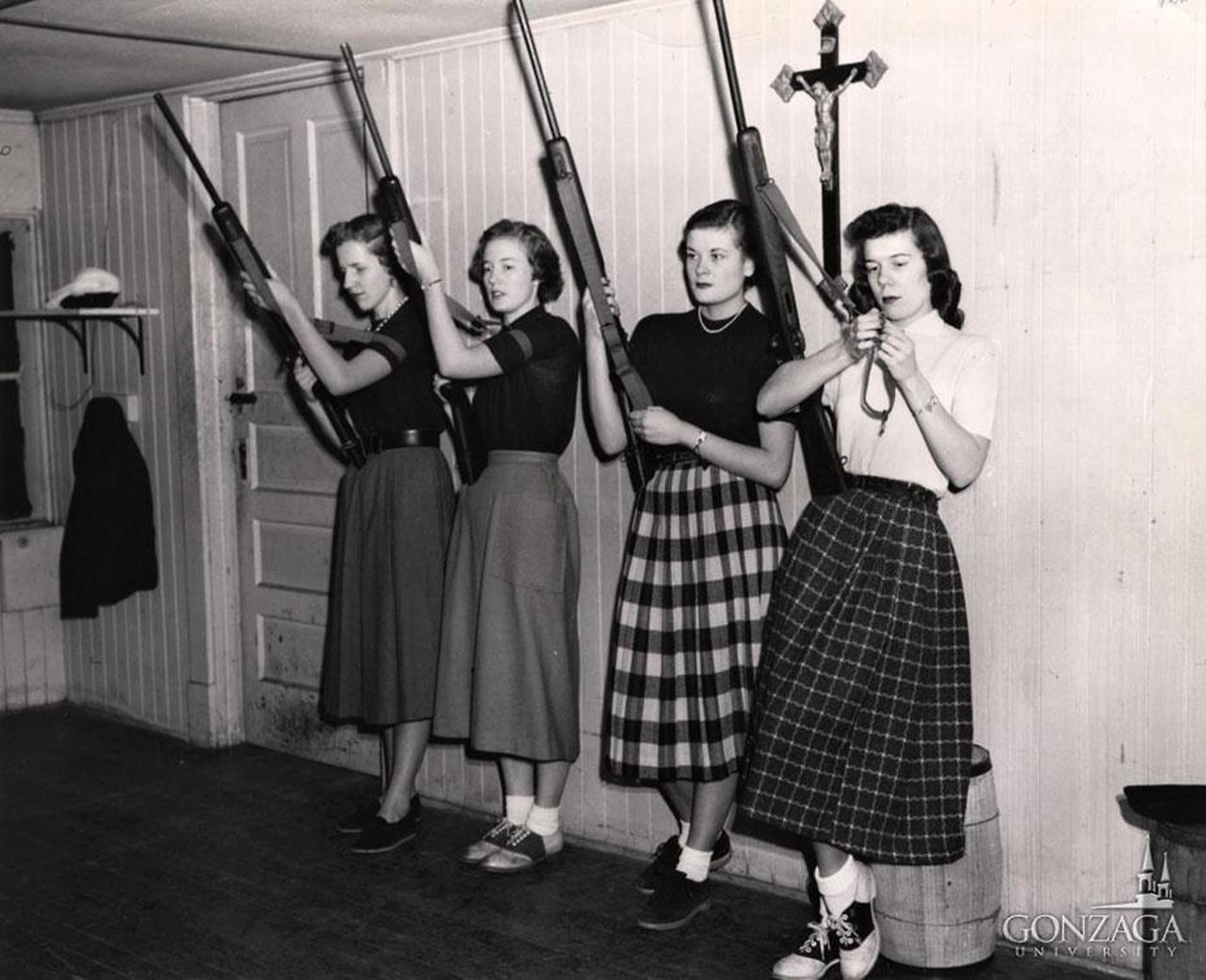 Women's Rifle Club, 1950s.jpg