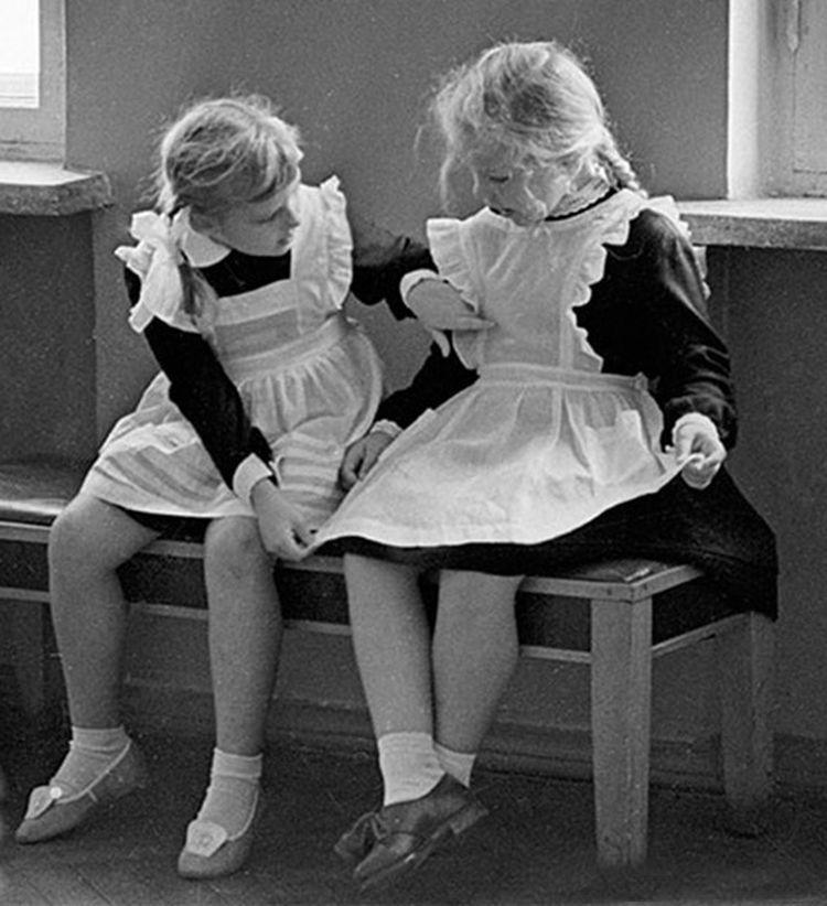 фото советские школьницы