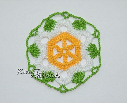 roventa-handmade, crochet, crochet motif, flower motif, crochet blanket, мотив крючком, мотив для пледа, плед из мотивов, плед крючком, мотив цветущая лилия, цветочный мотив