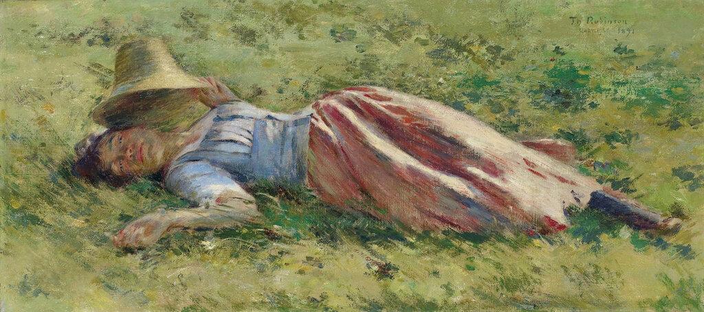 Theodore Robinson - In the Sun, 1891.jpeg