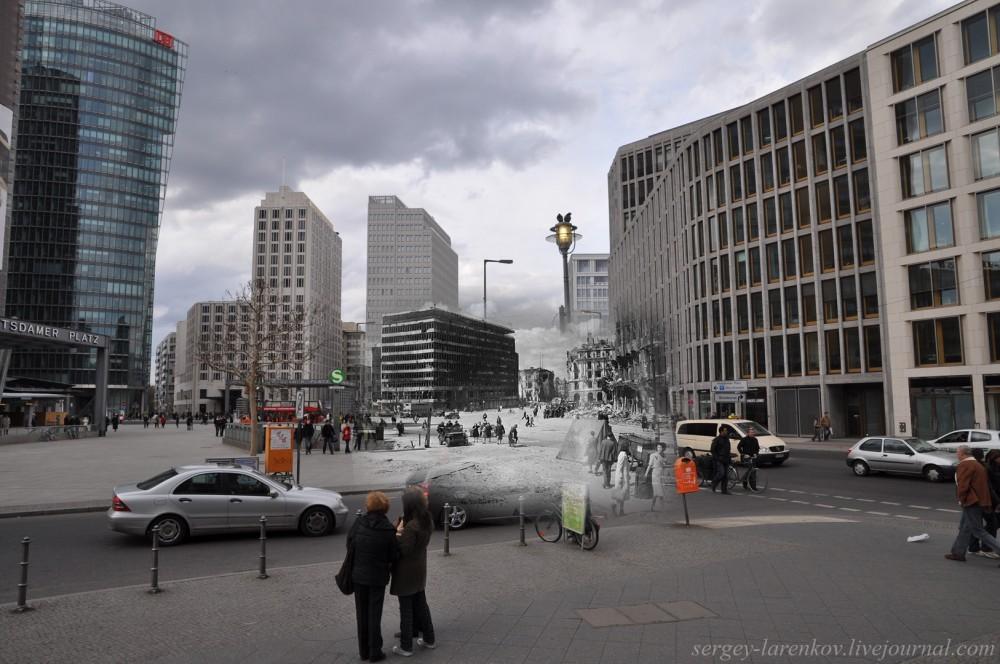 50 Берлин 1945-2010 Потсдамская площадь - Potsdamerhlatz..jpg