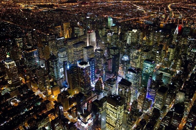 фото нью-йорк ночной