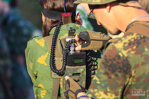 Фоторепортаж: Второй «Турнир по лазертагу среди СМИ» на кубок «Бизнес-газеты»