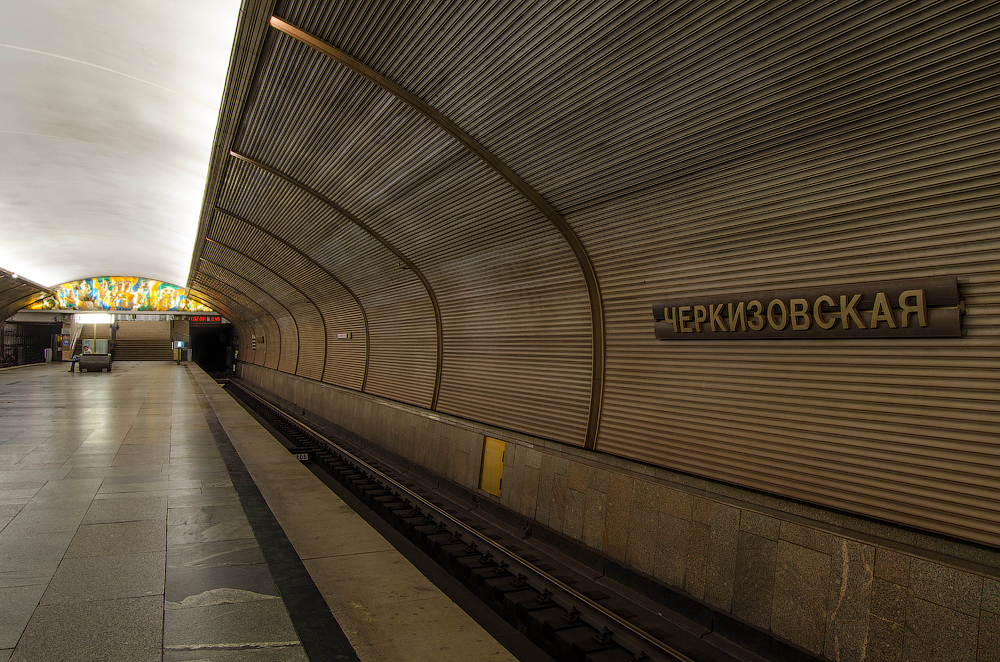 Черкизовская фото схемы метро
