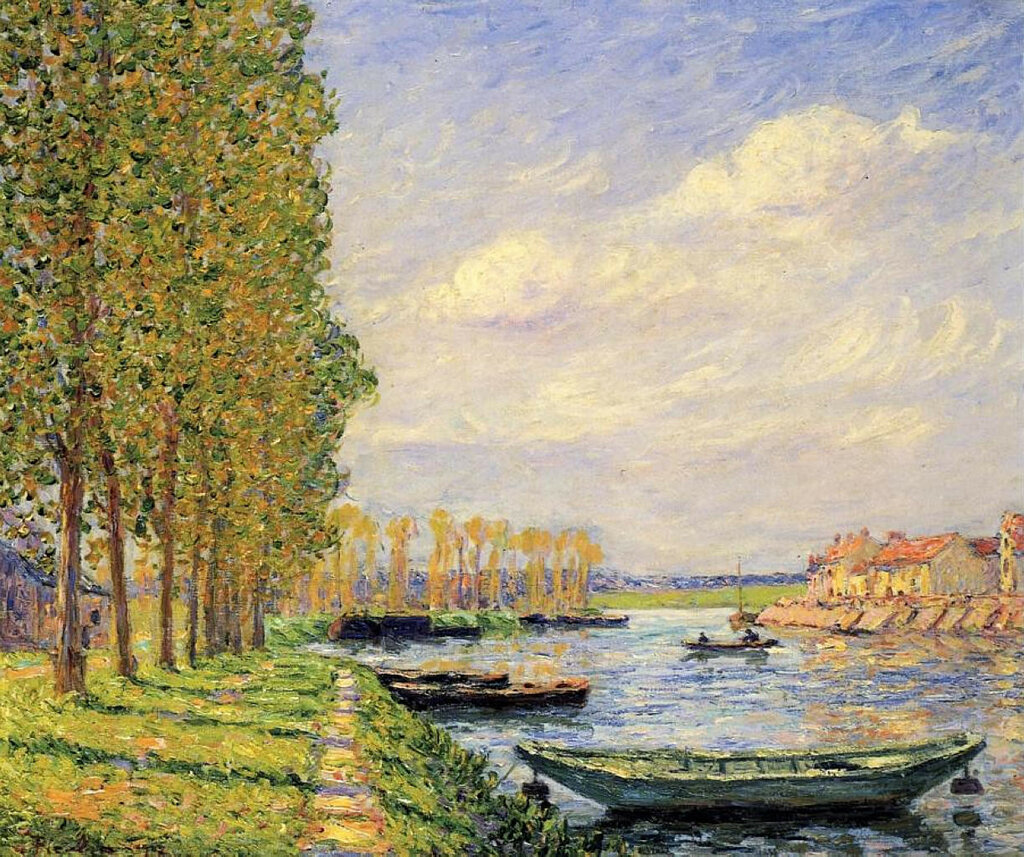 Francis Picabia - A Canal at St. Mammes.jpeg
