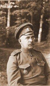 Начальник этапно-хозяйственного отдела штаба Генерального штаба полковник Изместьев.