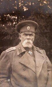 Командующий XII армией генерал от инфантерии В. Н. Горбатовский.
