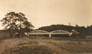 Вид моста через р. Аа.
