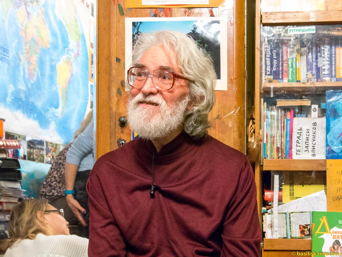 Писатель Виктор Кротов. 2015.