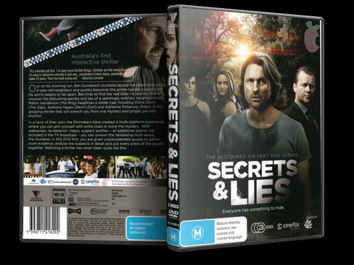Тайны и ложь (1 сезон: 1-6 серии из 6) / Secrets & Lies (AU) / 2014 / ПМ (Русский Репортаж) / WEB-DL (720p)