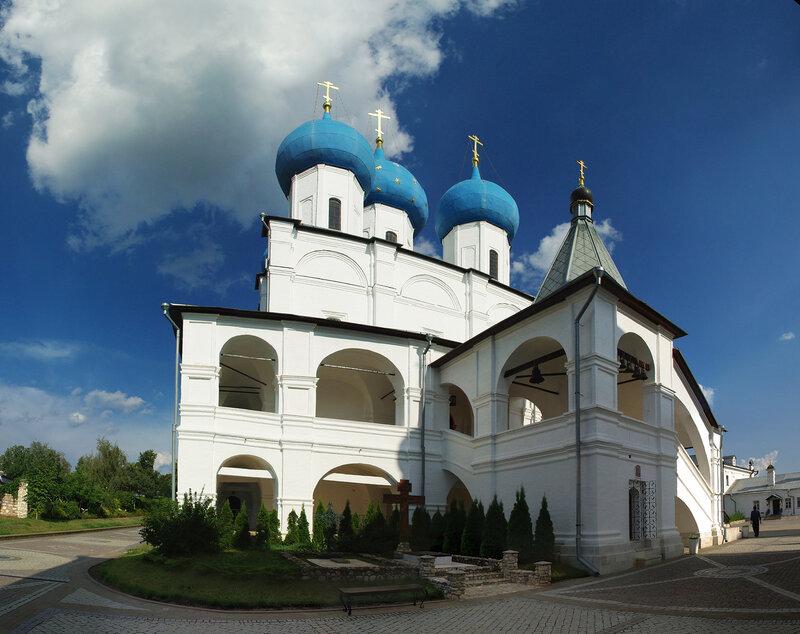 Собор Зачатия Праведной Анны Высоцкого монастыря