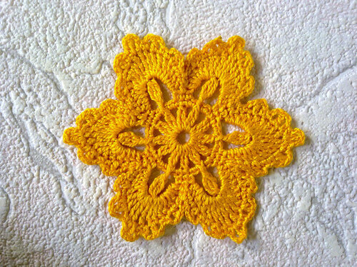 Мотив ирландского кружева — цветок «Алиса»