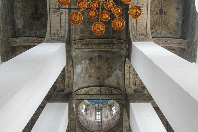 Своды Троицкого собора, Псковский Кром