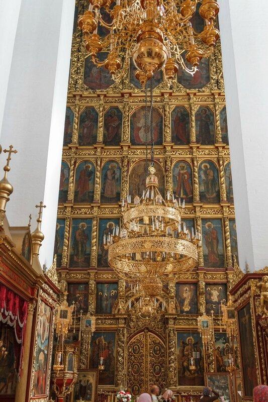 Иконостас Троицкого собора, Псковский Кром