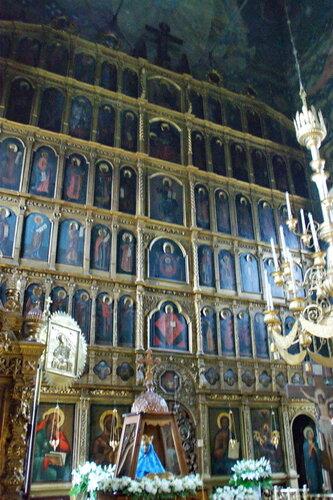 Церковь Успения Пресвятой Богородицы в Шубино. Иконостас.