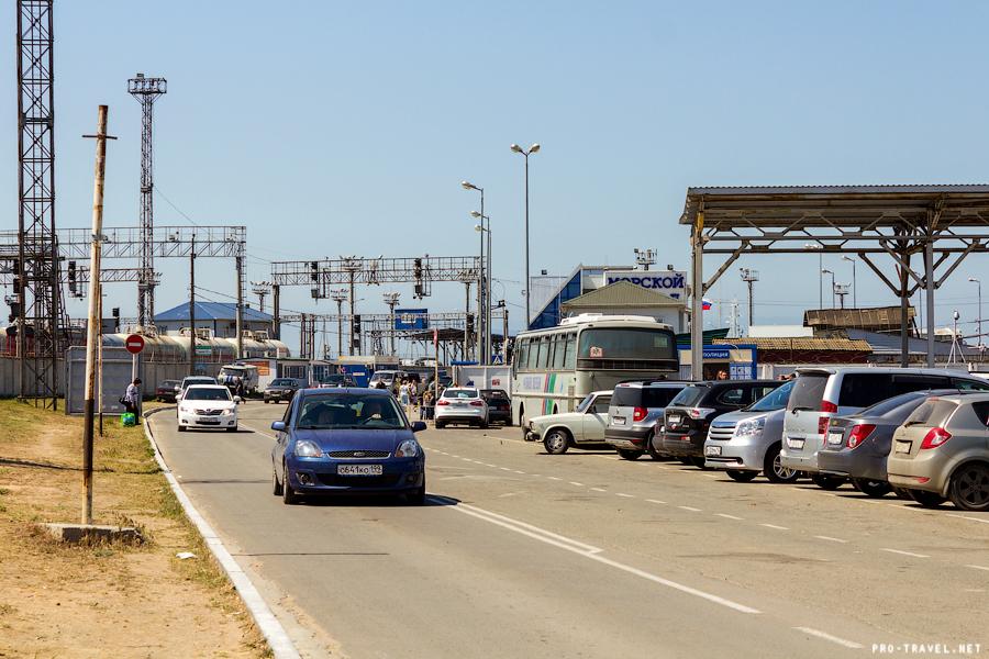 порт Кавказ, единый билет в Крым