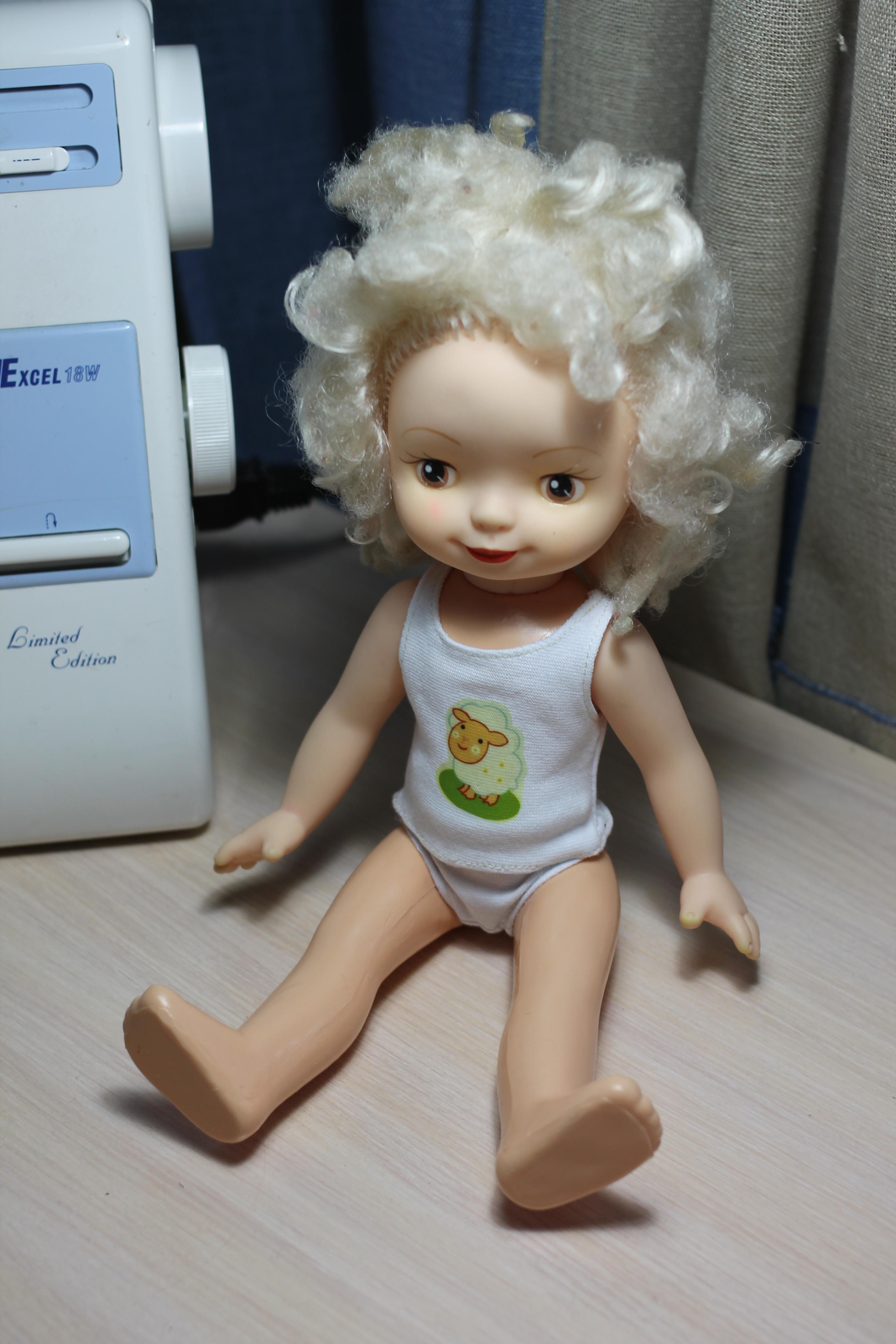 как одеть куклу