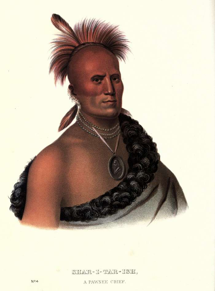 Вождь племени Pawnee