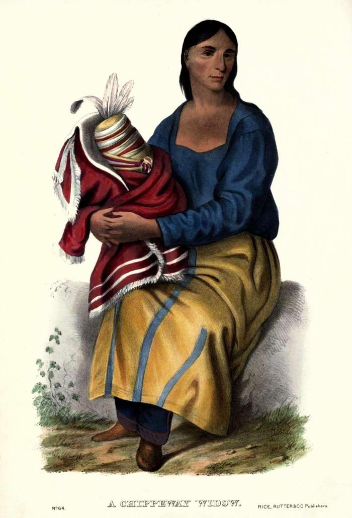 Вдова из племени Chippeway
